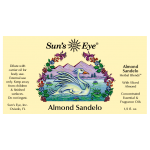 Almond Sandelo Herbal Oil Blend at Mystic Convergence Metaphysical Supplies, Metaphysical Supplies, Pagan Jewelry, Witchcraft Supply, New Age Spiritual Store