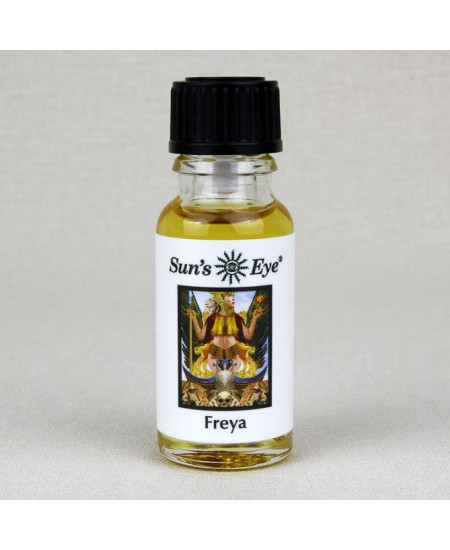 Freya Goddess Oil at Mystic Convergence Metaphysical Supplies, Metaphysical Supplies, Pagan Jewelry, Witchcraft Supply, New Age Spiritual Store