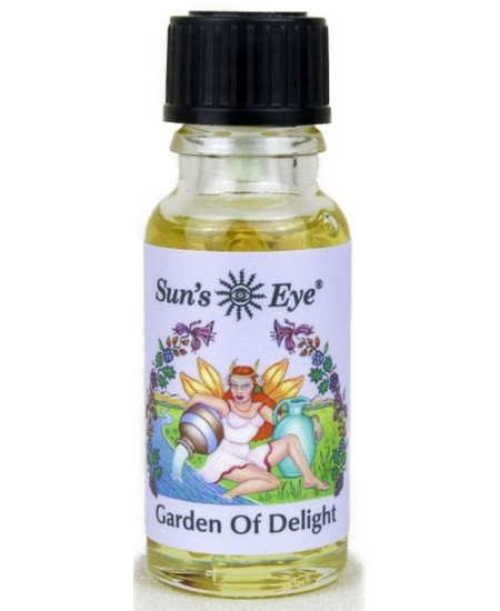 Garden of Delight Mystic Blends Oils at Mystic Convergence Metaphysical Supplies, Metaphysical Supplies, Pagan Jewelry, Witchcraft Supply, New Age Spiritual Store