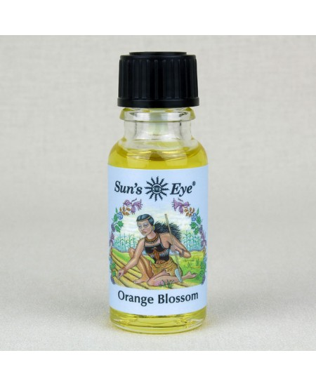 Orange Blossom Oil Blend at Mystic Convergence Metaphysical Supplies, Metaphysical Supplies, Pagan Jewelry, Witchcraft Supply, New Age Spiritual Store