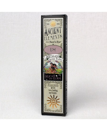Rose Ancient Elements Incense Sticks at Mystic Convergence Metaphysical Supplies, Metaphysical Supplies, Pagan Jewelry, Witchcraft Supply, New Age Spiritual Store