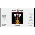Shango Orisha Deity Oil at Mystic Convergence Metaphysical Supplies, Metaphysical Supplies, Pagan Jewelry, Witchcraft Supply, New Age Spiritual Store