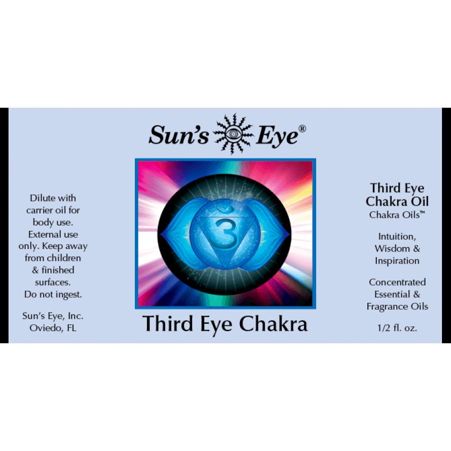 Third Eye Chakra Oil Mystic Blends Oils - Witchcraft, Spell Oil