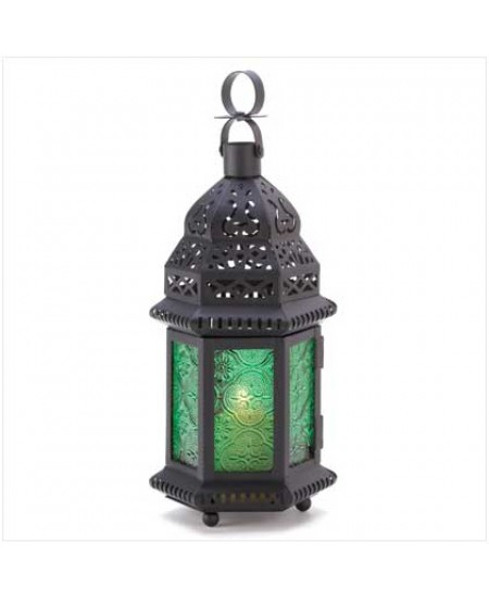 Green Glass Moroccan Candle Lantern at Mystic Convergence Metaphysical Supplies, Metaphysical Supplies, Pagan Jewelry, Witchcraft Supply, New Age Spiritual Store