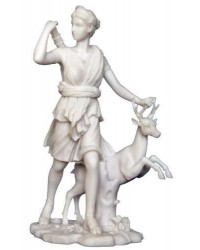 Diana of Versailles Greek Goddess of the Hunt Statue Mystic Convergence Metaphysical Supplies Metaphysical Supplies, Pagan Jewelry, Witchcraft Supply, New Age Spiritual Store