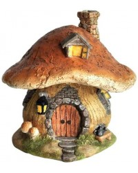 Mushroom Fairy House Enchanted Story Garden Home Mystic Convergence Metaphysical Supplies Metaphysical Supplies, Pagan Jewelry, Witchcraft Supply, New Age Spiritual Store