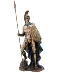 Ares Greek God of War Bronze Statue Mystic Convergence Metaphysical Supplies Metaphysical Supplies, Pagan Jewelry, Witchcraft Supply, New Age Spiritual Store