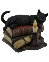 Witching Hour Black Cat Statue Mystic Convergence Metaphysical Supplies Metaphysical Supplies, Pagan Jewelry, Witchcraft Supply, New Age Spiritual Store