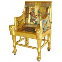 Golden Throne of King Tut Chair