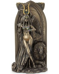 Priestess Egyptian Bronze Fantasy Art Statue Mystic Convergence Metaphysical Supplies Metaphysical Supplies, Pagan Jewelry, Witchcraft Supply, New Age Spiritual Store