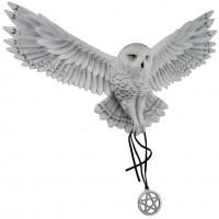 Awaken Your Magic Snow Owl Plaque