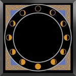 13 Moons Scrying Mirror