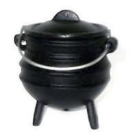 Cast Iron Mini Potjie Cauldron - 8 Oz