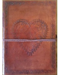 Heart Leather Journal Mystic Convergence Metaphysical Supplies Metaphysical Supplies, Pagan Jewelry, Witchcraft Supply, New Age Spiritual Store