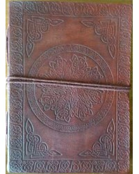 Celtic Mandala Leather Journal Mystic Convergence Metaphysical Supplies Metaphysical Supplies, Pagan Jewelry, Witchcraft Supply, New Age Spiritual Store