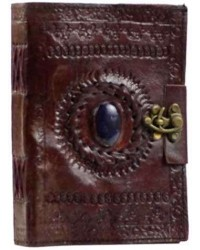 Gods Eye Brown Leather 7 Inch Journal with Latch Mystic Convergence Metaphysical Supplies Metaphysical Supplies, Pagan Jewelry, Witchcraft Supply, New Age Spiritual Store