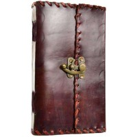 1842 Poetry Leather Blank Book - 9 Inches