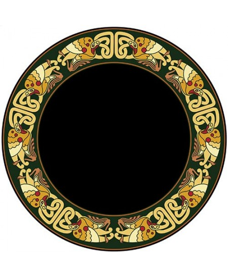 Celtic Birds Acrylic Scrying Mirror at Mystic Convergence Metaphysical Supplies, Metaphysical Supplies, Pagan Jewelry, Witchcraft Supply, New Age Spiritual Store