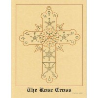 The Rose Cross Hermetic Parchment Poster