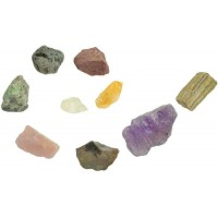 Raw Gemstone Assortment - 1 Pound Pack