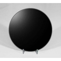 8 Inch Round Black Scrying Mirror