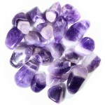 Amethyst Tumbled Stones - 1 Pound Pack at Mystic Convergence Metaphysical Supplies, Metaphysical Supplies, Pagan Jewelry, Witchcraft Supply, New Age Spiritual Store
