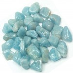 Aquamarine Tumbled Stones - 1 Pound Pack at Mystic Convergence Metaphysical Supplies, Metaphysical Supplies, Pagan Jewelry, Witchcraft Supply, New Age Spiritual Store