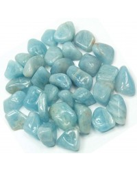 Aquamarine Tumbled Stones - 1 Pound Pack Mystic Convergence Metaphysical Supplies Metaphysical Supplies, Pagan Jewelry, Witchcraft Supply, New Age Spiritual Store