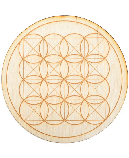 Square Flower of Life Crystal Grid in 3 Sizes at Mystic Convergence Metaphysical Supplies, Metaphysical Supplies, Pagan Jewelry, Witchcraft Supply, New Age Spiritual Store