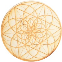 Seed of Life Crystal Grid in 3 Sizes