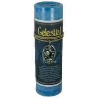 Celestial Universe Spell Candle with Amulet Pendant
