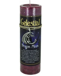 Dragon Moon Celestial Spell Candle with Amulet Pendant Mystic Convergence Metaphysical Supplies Metaphysical Supplies, Pagan Jewelry, Witchcraft Supply, New Age Spiritual Store