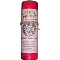 Celtic Harmony Spiritual Awakening Candle with Pendant
