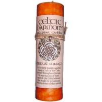 Celtic Harmony Spiritual Strength Candle with Pendant
