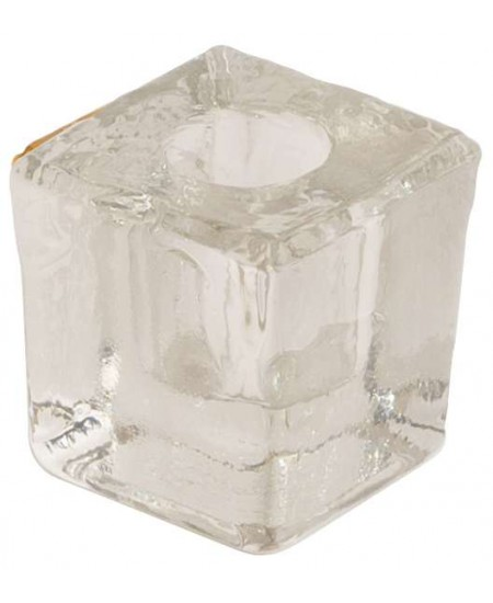 Clear Glass Mini Candle Holder at Mystic Convergence Metaphysical Supplies, Metaphysical Supplies, Pagan Jewelry, Witchcraft Supply, New Age Spiritual Store