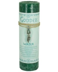 Goddess Water Spell Candle with Amulet Pendant Mystic Convergence Metaphysical Supplies Metaphysical Supplies, Pagan Jewelry, Witchcraft Supply, New Age Spiritual Store