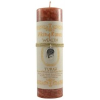 Turaz Wealth Viking Rune Amulet Candle