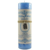 Uruz Health Viking Rune Amulet Candle