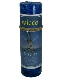 Wicca Direction Spell Candle with Amulet Pendant Mystic Convergence Metaphysical Supplies Metaphysical Supplies, Pagan Jewelry, Witchcraft Supply, New Age Spiritual Store