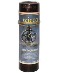 Wicca New Beginnings Spell Candle with Amulet Pendant Mystic Convergence Metaphysical Supplies Metaphysical Supplies, Pagan Jewelry, Witchcraft Supply, New Age Spiritual Store