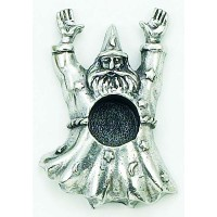 Wizard Spellcaster Mini Candle Holder