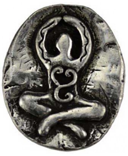 Goddess Pewter Pocket Charm at Mystic Convergence Metaphysical Supplies, Metaphysical Supplies, Pagan Jewelry, Witchcraft Supply, New Age Spiritual Store