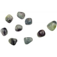 Rainbow Fluorite Tumbled Stones - 1 Pound Pack