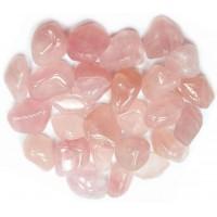 Rose Quartz Single Tumbled Stone for Love