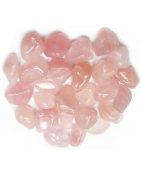 Rose Quartz Tumbled Stones - 1 Pound Pack Mystic Convergence Metaphysical Supplies Metaphysical Supplies, Pagan Jewelry, Witchcraft Supply, New Age Spiritual Store