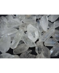 Clear Quartz Rough Crystal Points - 3 Pound Pack Mystic Convergence Metaphysical Supplies Metaphysical Supplies, Pagan Jewelry, Witchcraft Supply, New Age Spiritual Store