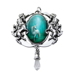 Forest Enchanted Unicorn Cameo by Anne Stokes at Mystic Convergence, Wicca Supplies, Pagan Jewelry, Witchcraft Supply, New Age Magick
