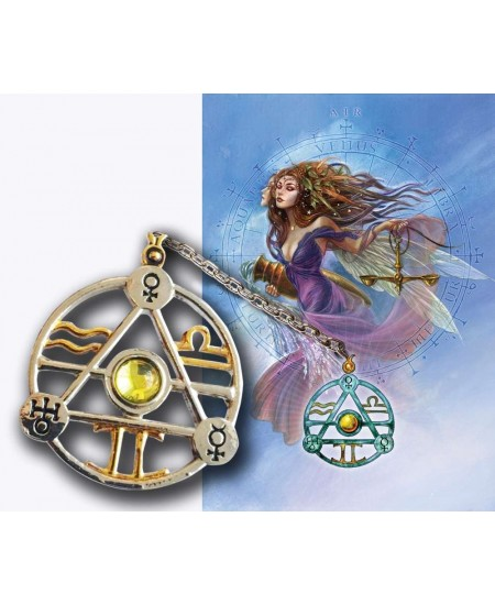 Elemental Air Talisman and Greeting Card at Mystic Convergence Metaphysical Supplies, Metaphysical Supplies, Pagan Jewelry, Witchcraft Supply, New Age Spiritual Store