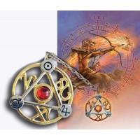 Elemental Fire Talisman and Greeting Card