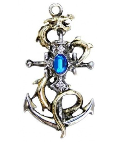 Drake Leviathan Necklace for Luck at Mystic Convergence Metaphysical Supplies, Metaphysical Supplies, Pagan Jewelry, Witchcraft Supply, New Age Spiritual Store
